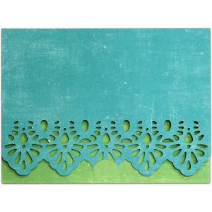 a2 card crescent closure lace edge