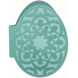 lacy easter egg card