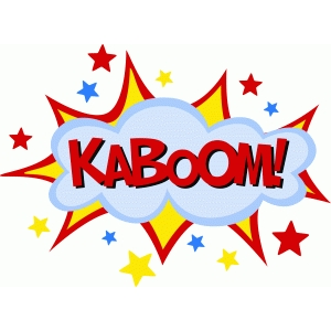 comic book kaboom