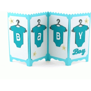 baby boy screen card