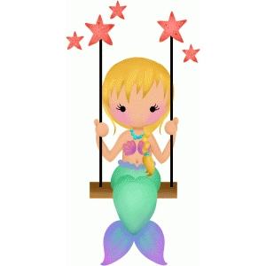 mermaid swing