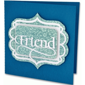 friend frame card