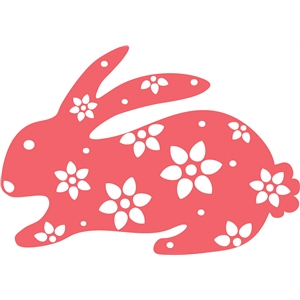 patterned bunny