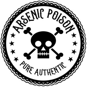 arsenic poison halloween apothecary label