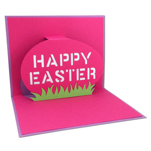 easter egg pop-up card