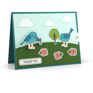slider card birds