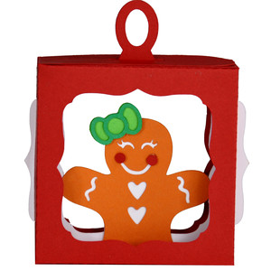 gingerbread girl hanging ornament
