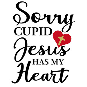 sorry cupid jesus heart
