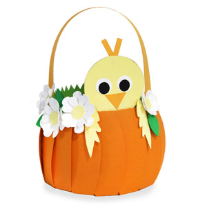 cute chick basket