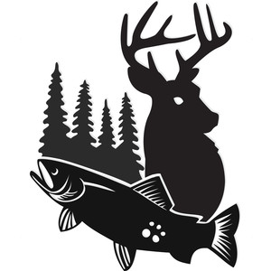 hunting & fishing logo
