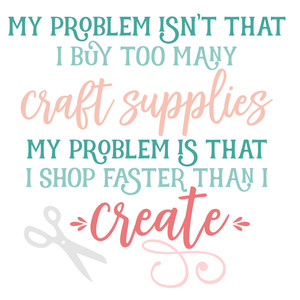 shop faster than i create