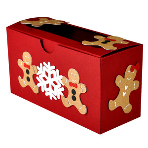 gingerbread man cookie box