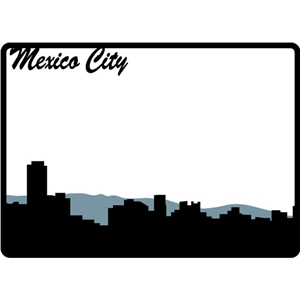 mexico city frame