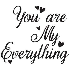 you are my everything quote