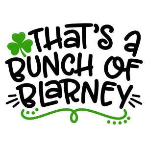 bunch of blarney