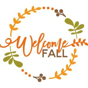 welcome fall phrase