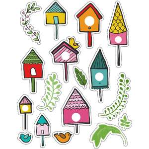 ml bird house fun stickers