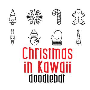 kawaii in christmas doodlebat