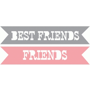 best friends / friends word tags