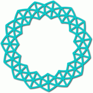 abstract circle frame