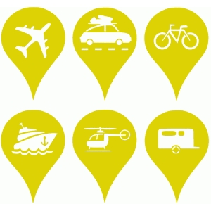 location tags (transport kit)