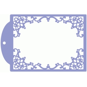 lace frame tag