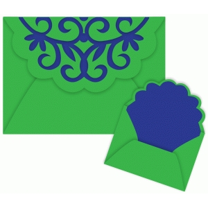 holiday envelope for 5 x 7 cards