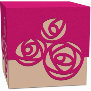 roses treat box with lid