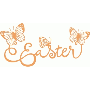 easter butterflies