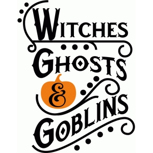 witches, ghosts & goblins