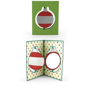 a2 swing through card ornament