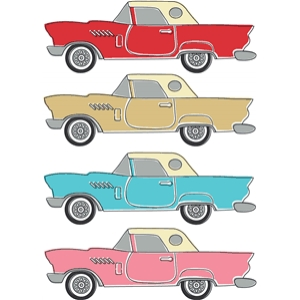 57 t bird car print and cut set