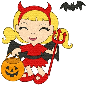 costume kids devil
