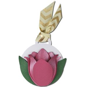 tulip gift tag card