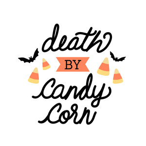 death by candy corn