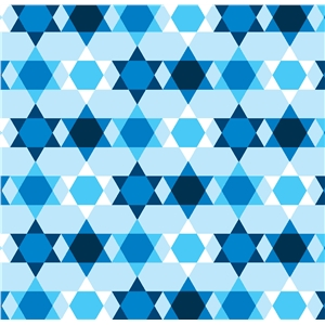 star of david mod small scale pattern