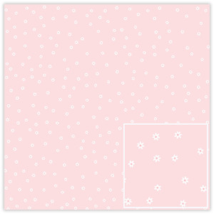 baby girl little flowers paper