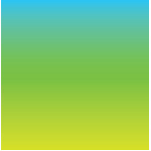neon chartreuse to blue ombré background