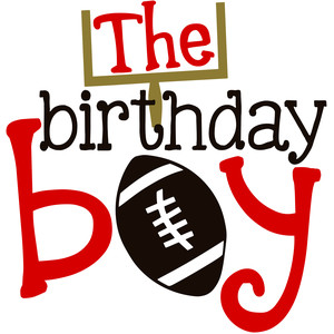 the birthday boy football