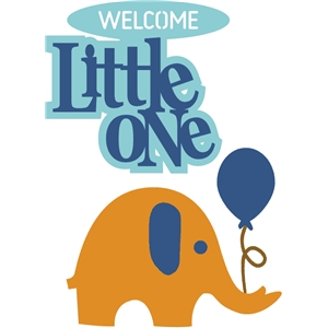 Little One Elephant #27653