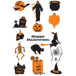 happy halloween shapes!