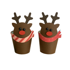 reindeer treat cup