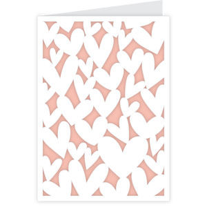 lots of hearts card - a2 & a7