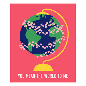 you mean the world valentine