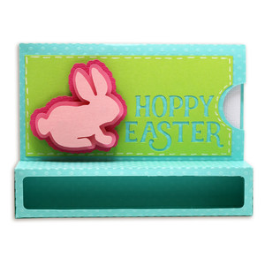 hoppy easter chocolate holder