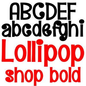 pn lollipop shop bold