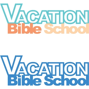 vacation bible school phrase