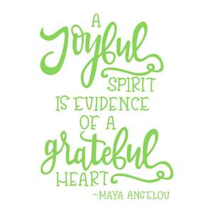 a joyful spirit quote
