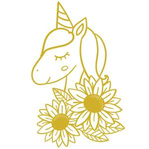 sunflower unicorn