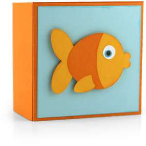 gift box goldfish